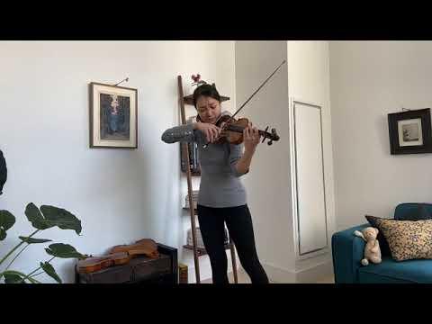 Violinist Nancy Zhou | VC LIVING ROOM LIVE