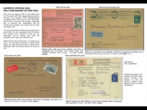 Osa 2 - Postal history of M30