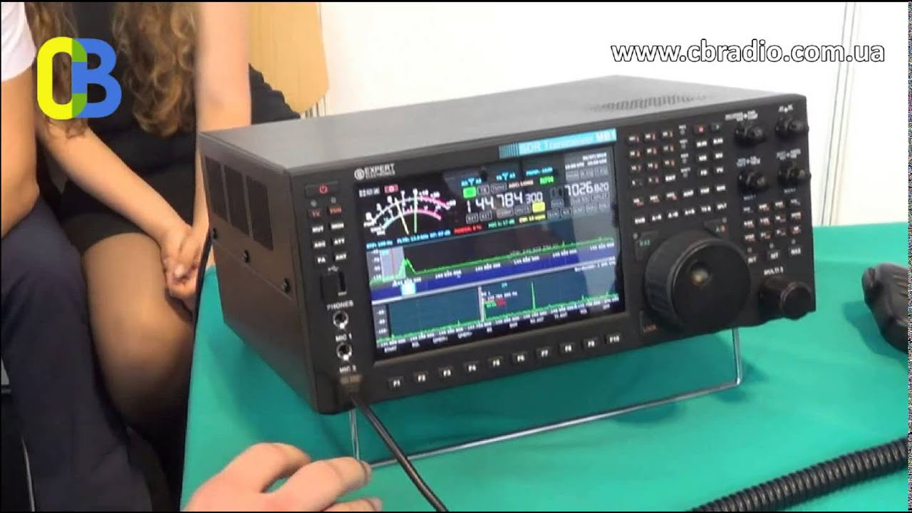 Sdr Transceiver Mb1 Hamradio Exhibition Germany Doovi
