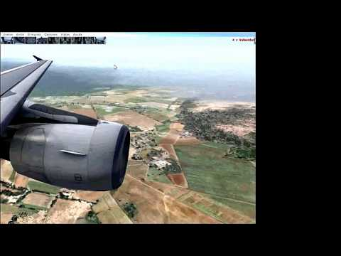 Incredible and difficult landing at Toncontin Airport  (Honduras)