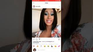 Download Cardi B Rants Over Government Shut Down And Accidentally Exposes Rappers As Government Workers???😱😱😱 Mp3 and Videos