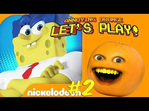 Annoying Orange Plays - Spongebob On The Run #2