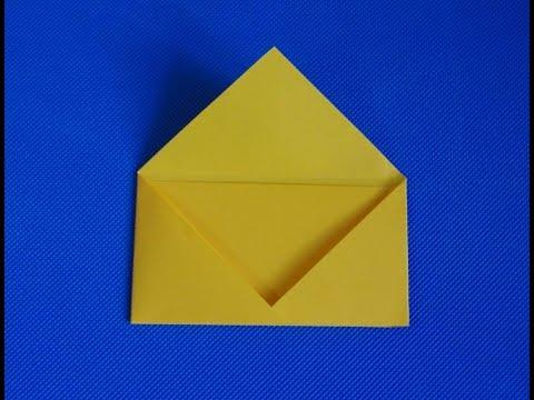 Как делать конверты из бумаги маленькие