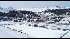 Best of Drone Snow Polo World Cup St. Moritz 2020
