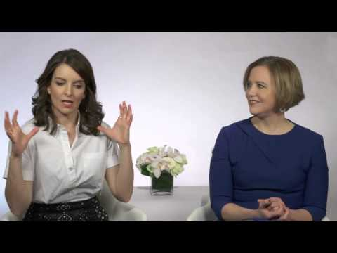 Whiskey Tango Foxtrot: Tina Fey & the real life Kim Barker Official Movie Interview