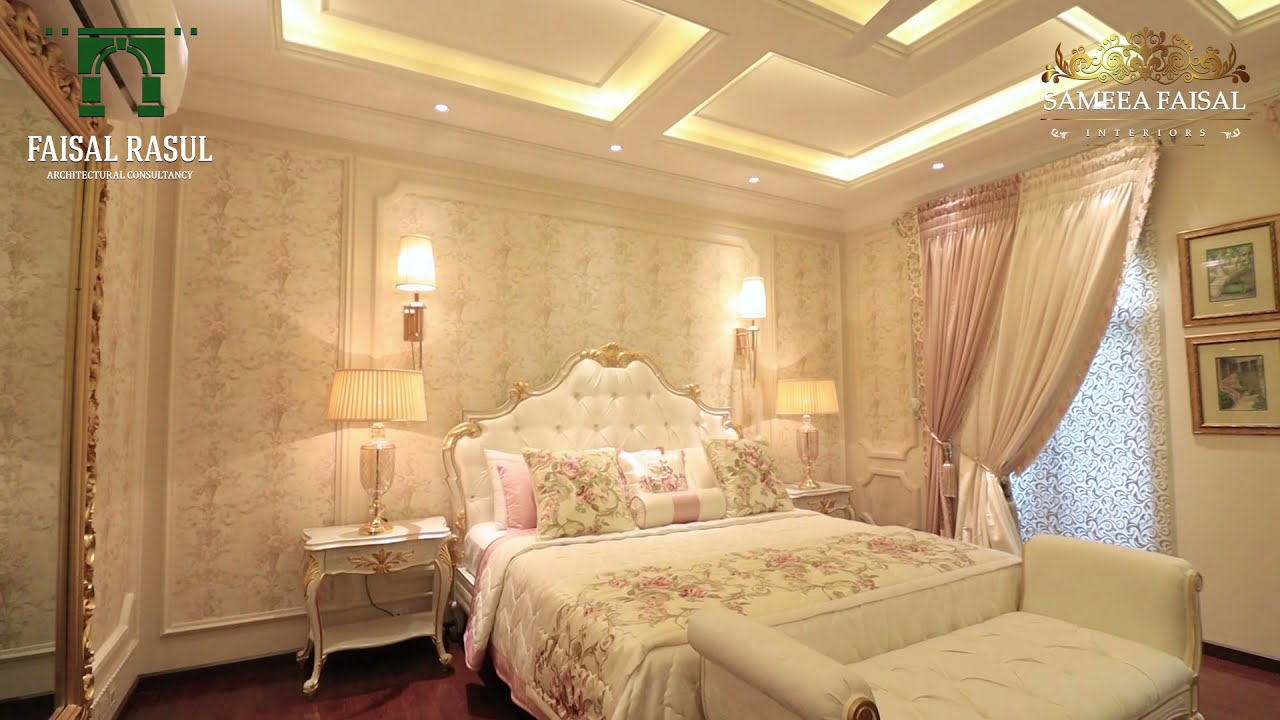 Luxury House In Lahore Design By Faisal Rasul Interior Design By Sameea Faisal Youtube
