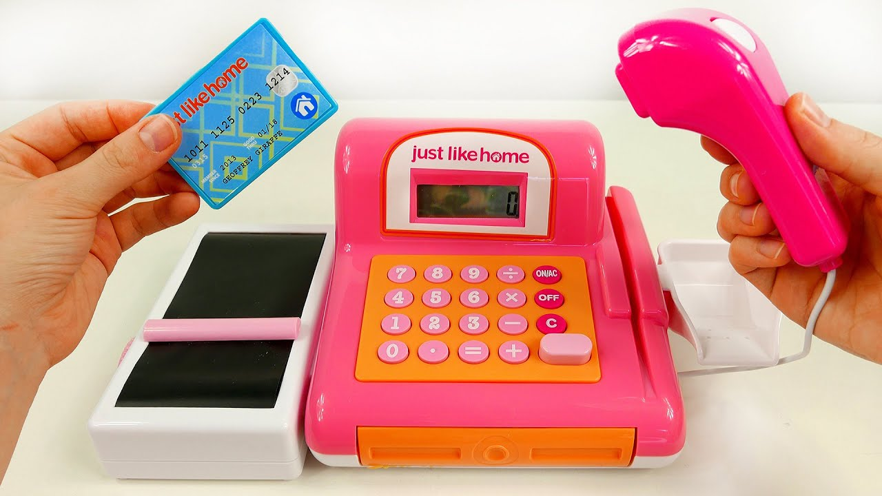 Just For Girls Toys : Cash register toy for girls playset just like home youtube