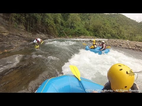 White Water Rafting in Costa Rica (GoPro Unedited)