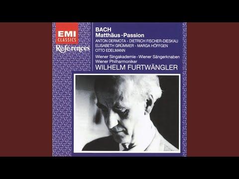 St Matthew Passion BWV244 (1995 Remastered Version) , PART 2: No. 37, Rezitativ: Die aber Jesum...