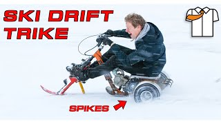 DRIFT TRIKE with SKI