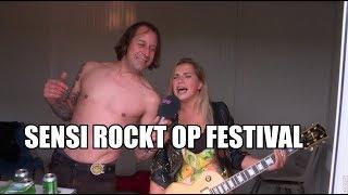 Zomer met Sensi - Sensi gooit haar los op rockfestival