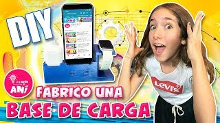 📱 ¡¡FABRICO una BASE DE CARGA para MI IPHONE!! 📱 ¡CARGA TU APPLE WATCH Y TUS AIRPODS SUPER FÁCIL!
