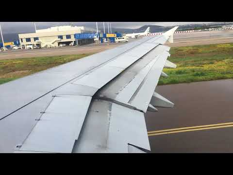Aegean a321 morning take off from ATH