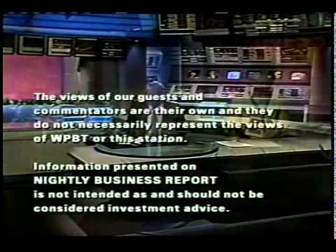 nightly business report theme 1992