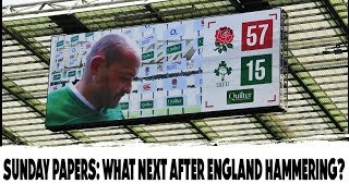Sunday Papers: How can Ireland salvage RWC preparations?
