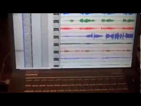 John Mayer pre-recording of Half of My Heart v1.0