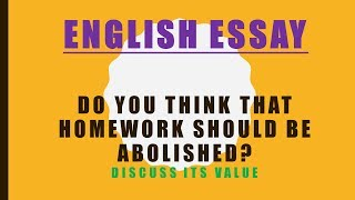 should we abolish homework Cons pros 2 homework does not have that much of an educational value to students, other than reading pros 1 homework takes away from family time.