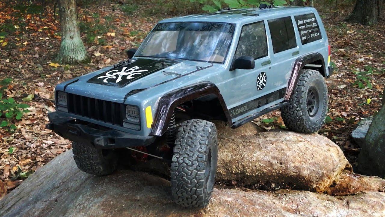 Axial SCX10 II CRC Edition Jeep Wrangler Exploring Kent Falls in .