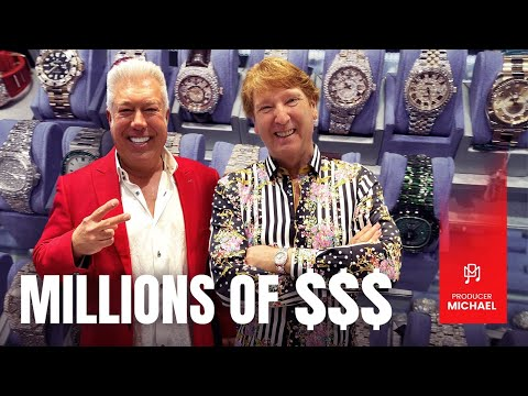MILLIONS OF DOLLARS!! PETER MARCO'S ICED OUT LUXURY WATCHES