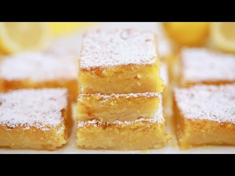 Easy Lemon Bars Recipe - Gemma's Bigger Bolder Baking