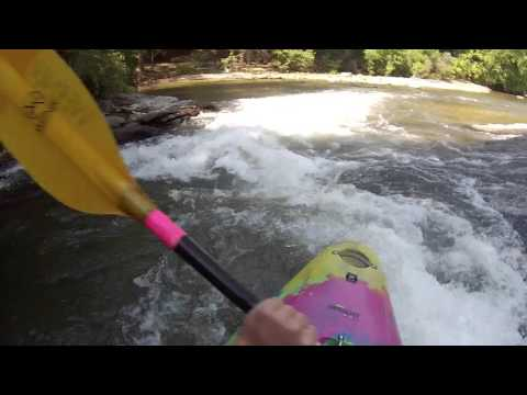 Cartecay River – Stegall Mill Road to DNR – whitewater kayaking