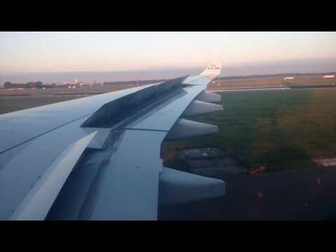 Landing in Germany Dusseldorf