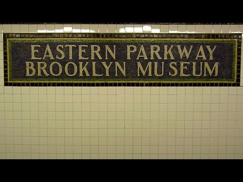 R142 2 and 5 plus R62 3 trains at Eastern Parkway - Brooklyn Museum