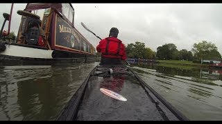 Kayaking the River Thames in Abingdon