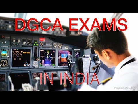 How to be a PILOT-DGCA exams