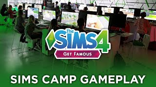 Get Famous Gameplay Capture at Sims Camp! 🎬🌟 — The Sims 4 News & Info