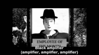 The S.I.G.I.T - Black Amplifier lyrics on screen