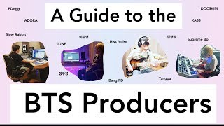 A Guide to the BTS Producers (PDogg, Supreme Boi & more)
