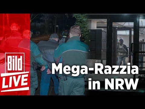 Mega-Razzia in NRW – Zoll gelingt Schlag gegen organisierte Schwarzarbeit +++ BILD Live