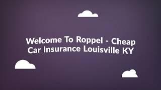 Cheap Car Insurance in Louisville KY