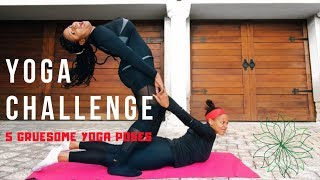 YOGA CHALLENGE   SOUTH AFRICAN YOUTUBER