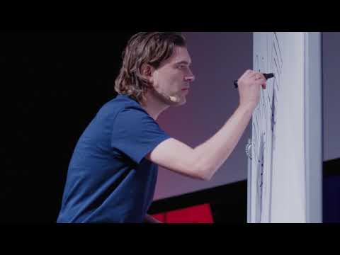 TEDx Talk by CEBRA Founder Mikkel Frost demonstrates the Power of Hand Drawing