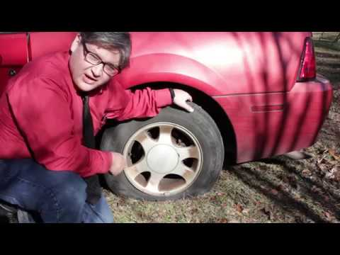 how to use fix a flat on a car tire