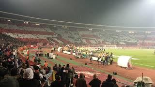Stadion Rajko Mitić - Roter Stern Belgrad - 1. FC Köln 1:0, 07.12.2017 - Groundhopping