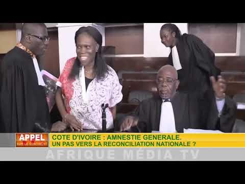 CÔTE D'IVOIRE : AMNISTIE GÉNÉRALE. UN PAS VERS LA RÉCONCILIATION ?