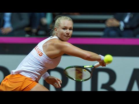 Fed Cup: Wit-Rusland - Nederland (zaterdag)