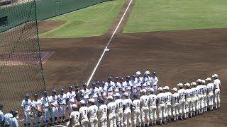 中大附 - 調布南 2017年7月14日(金)第99回全国高校野球選手権西東京大会[二回戦]