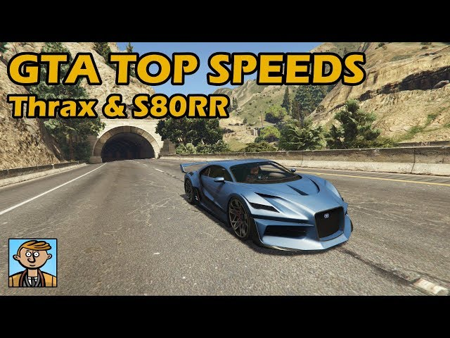Fastest Supercars (Thrax & S80RR) - GTA 5 Best Fully Upgraded Cars