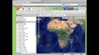 Tripartite E-gis Corridors Map