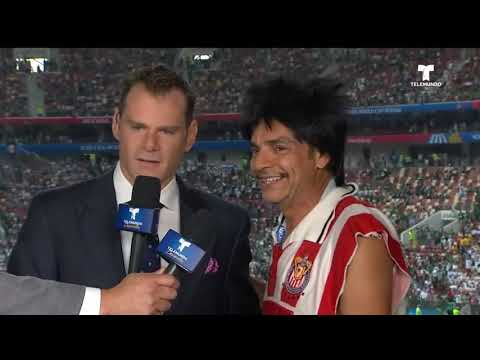¡Entra Eugenio Derbez al set de Telemundo Deportes!   Copa Mundial