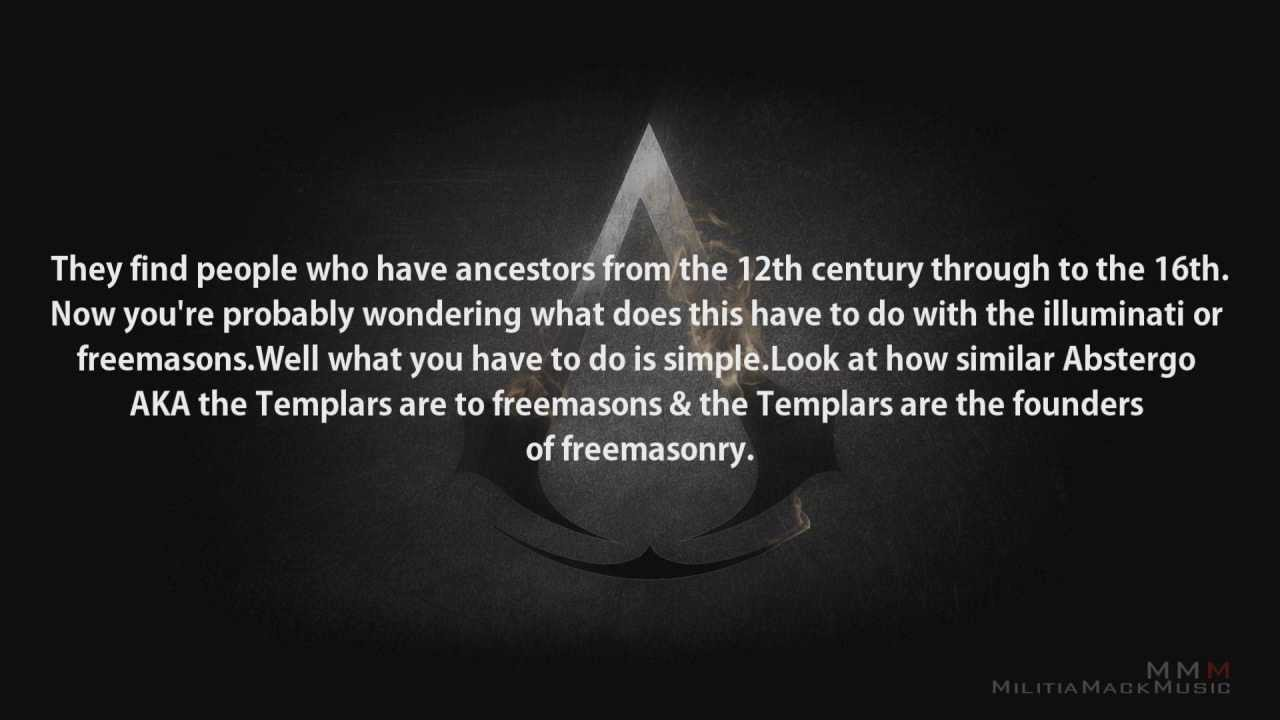 Assassins Creed The Third illuminati Connection (Part 1 ...