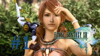 Final Fantasy XIII Gameplay #1 Prelude to FINAL FANTASY XIII,MEET LIGHTNING(FIRST LIVE STREAM)