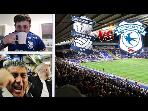 BIRMINGHAM CITY 1-0 CARDIFF | COTTERILLS FIRST GAME AS BLUES MANAGER | MATCHDAY VLOG  #12 | 13/10/17