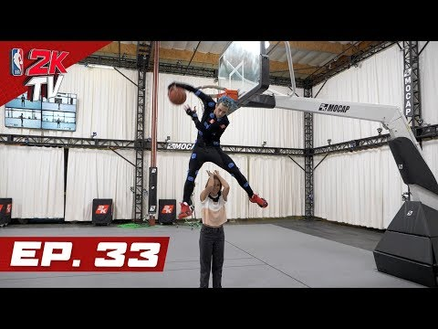 Jordan Kilganon rocks the rim at 2K Mocap - NBA 2KTV S4. Ep.33