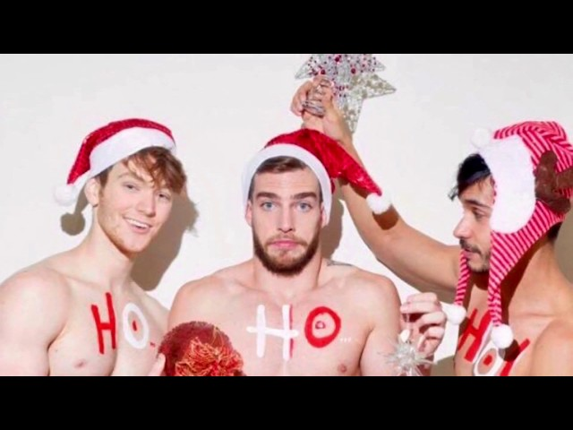 Merry Christmas! - from the most desirable men in the world.