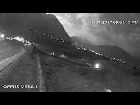 'Meteor' lights up city of Gilgit. leaves Gilgit Residents Panic on 15 March 2017